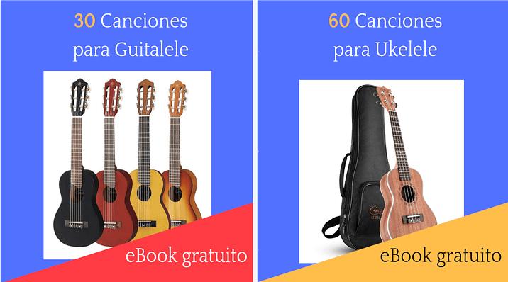 Ebooks de canciones para guitalele y ukelele