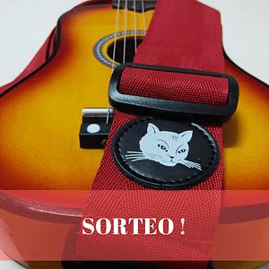 Sorteo de correa para guitarra, guitalele y ukelele